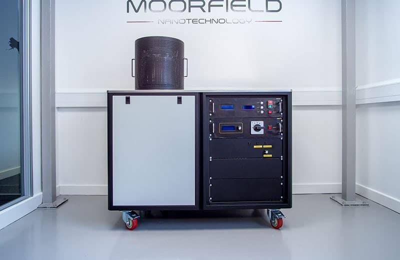Moorfield M307 multi-source manual thermal evaporation controller
