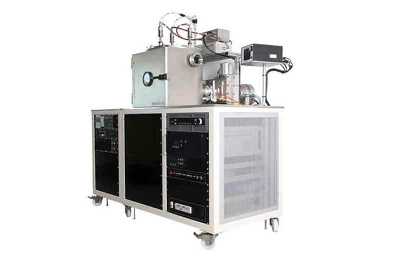 Minilab 125 magnetron sputtering system with triple-rack frame
