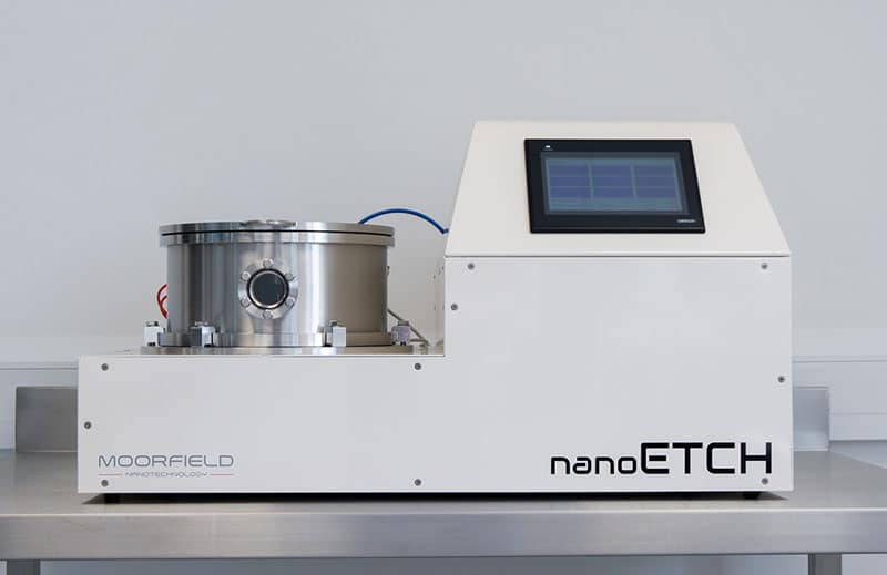 nanoETCH system for soft-etching applications in graphene research.