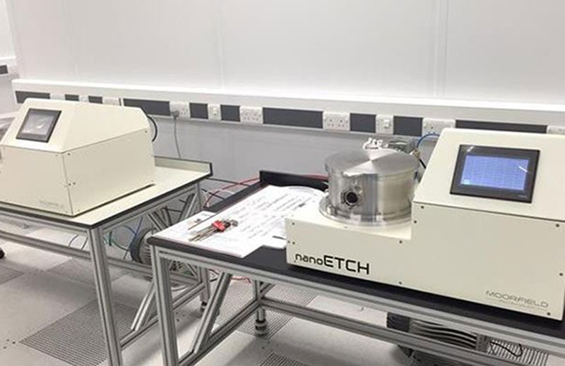 nanoETCH systems suite at the National Graphene Institute, University of Manchester, UK.