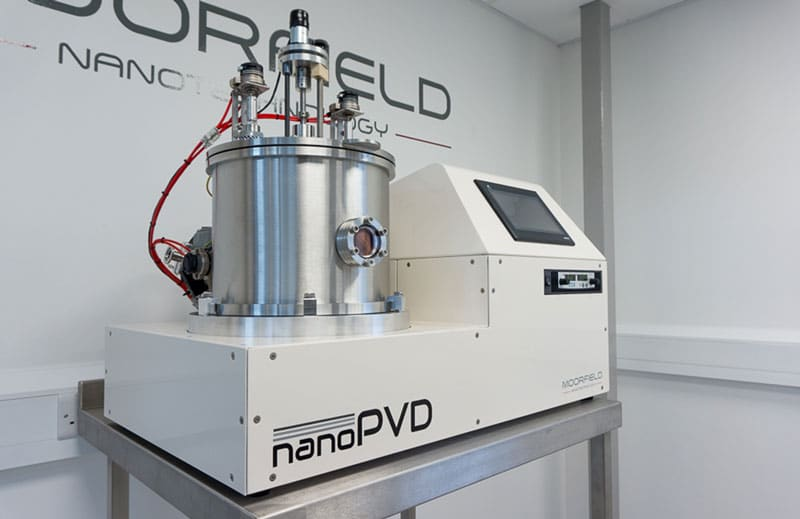 nanoPVD-S10A system for RF/DC magnetron sputtering