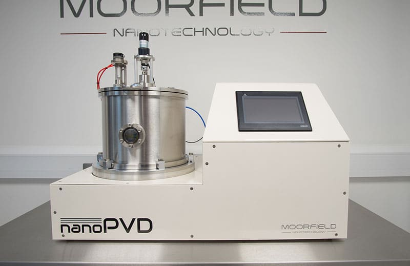 nanoPVD-S10A-WA system for RF/DC magnetron sputtering on substrates with diameters up to 8""