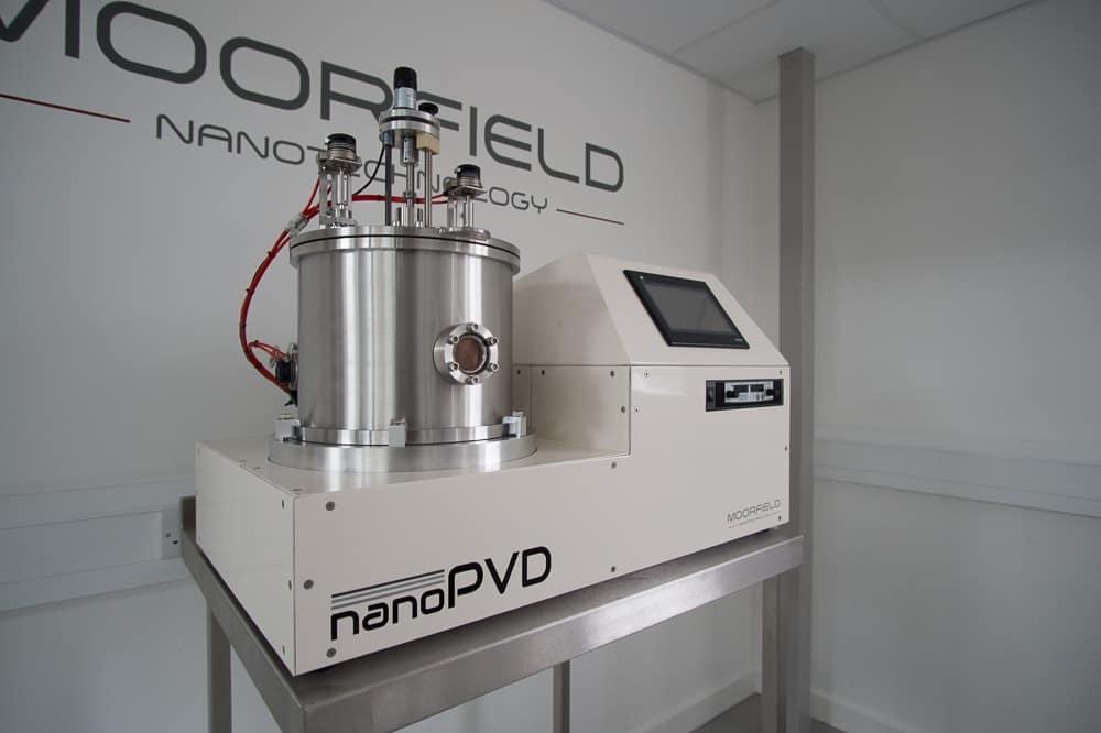 Desktop nanoPVD sputter system
